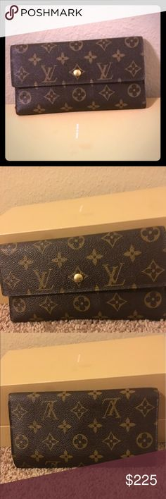 Authentic!! Louis Vuitton wallet Authentic! Great condition!! Have the matching purse. Louis Vuitton Bags Wallets