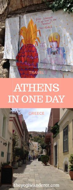Top 6 things to do in Athens in one day #Travel #Greece #Europe