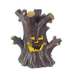 Ganz Halloween LED Fairy Garden Gnome Haunted Tree House NWT Fantasy