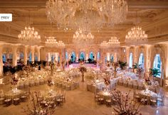 chic elegant wedding decoration