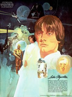 STAR WARS (1977) Burger Chef Premium Posters