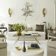 sophisticated white glam