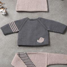 Modell / Anleitung von Pullover von Baby von Herbst / Winter von KATIA
