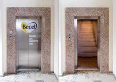 22 ejemplos de creatividad en ascensores   Una pausa para la publicidad