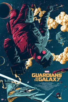 Guardians of the Galaxy Artist: Florey Marvel poster. Officially licensed Film Poster by Florey. Regular and variant Marvel poster. Poster Marvel, Marvel Comics, Heros Comics, Marvel Art, Marvel Movie Posters, Cartoon Posters, Disney Posters, Art Galaxie, Plakat Design