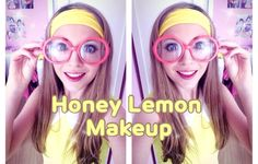 Honey Lemon Cosplay Makeup Tutorial from Disney's Big Hero 6