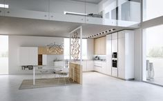Modern Light Loft Interior