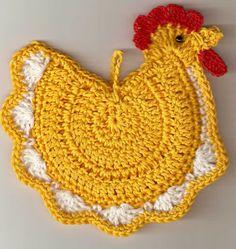 Gomitoli Magici: Idee per la Pasqua: Pulcini e galline ad uncinetto
