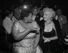 Marilyn Monroe & Ella Fitzgerald