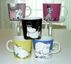 My collection. Moomin, Mugs, Tableware, Collection, Eggs, Dinnerware, Tumblers, Tablewares, Mug
