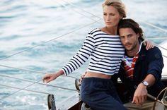 Морской стиль в одежде: тенденции и особенности образа