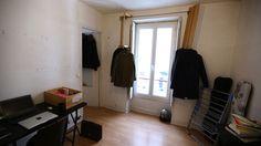 Damien Gires s'attaque au relooking d'un appartement 30m2 dans le quartier Oberkampf, dans le 11ème arrondissement de Paris.