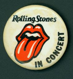 Rolling Stones #pinback #button #badge Rolling Stones Concert, High School Memories, Blue Banana, Hair Jewelry, Jewellery, Button Badge, Pin And Patches, Pin Badges, Classic Rock