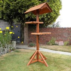 Wooden Bird Tables