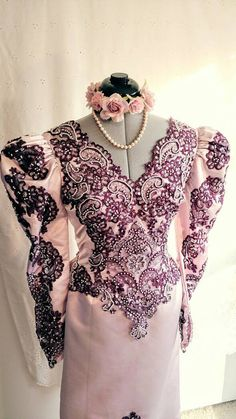 Hey, I found this really awesome Etsy listing at https://www.etsy.com/listing/460986876/plum-soft-mauve-alencon-lace-wedding