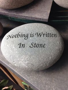 Nothing is written in stone - Self-Editing Checklist for Indie Writer-Publishers