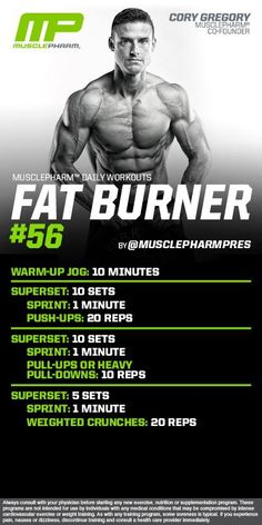Lose Weight with This Two Minute Ritual - Circuit Workout of the Day! Fat Burner 160 by Powered by Lose Weight with This Two Minute Ritual - Belly Fat Burner Workout Belly Fat Burner Workout, Fat Burning Workout, Fat Workout, Workout Fitness, Health Fitness, Workout Circuit, Workout Men, Fitness Exercises, Fitness Tips
