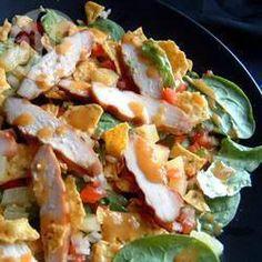 Salade des îles au poulet