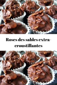 Roses des sables extra-croustillantes Extra-crispy sand roses Discover the recipe for extra-crispy sand roses, small chocolate and crunchy bites to. French Christmas Food, Christmas Cooking, Noel Christmas, Sweet Recipes, Cake Recipes, Dessert Recipes, Quick Dessert, Xmas Desserts, Chocolates