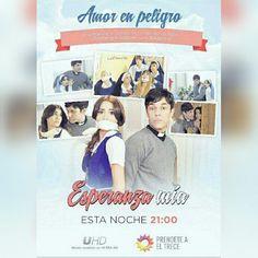 Hoy en Esperanza Mia:Amor en peligro.Tomas y Esperanza son victimas de un robo,¿terminara todo en una tragedia?<3