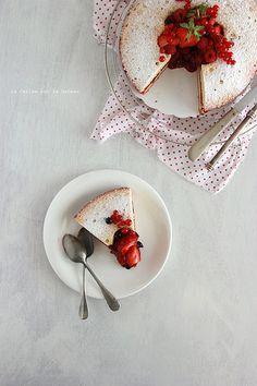 spongecake065 Victoria Sponge Cake & Confit de Fraises