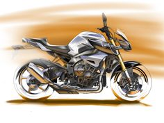 Design Sketch : Yamaha MT10 2016.