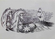 Moomin by Tove Jansson Finland Moomin Valley, Tove Jansson, Children's Book Illustration, Magical Girl, Troll, Fantasy Art, Fairy Tales, Cool Art, Character Design