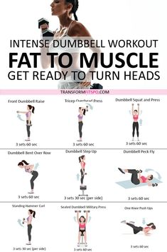Rapid Results Dumbbell Workout! Adding Weights Will Turn Fat to Muscle! Get Ready to Turn Heads…