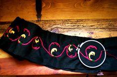 Bayeux festoon embroidery 1 by sleepyhamsteri