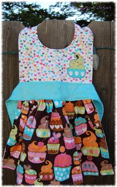 C is for Cupcake and Cuteness. Personalized Apron Great for Birthday Gifts. $25.00, via Etsy.