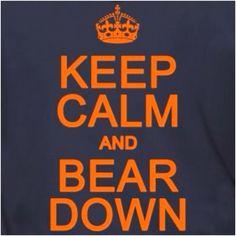 I can't wait for football season! Bears!