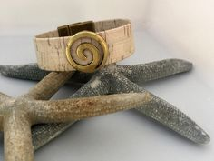 A personal favorite from my Etsy shop https://www.etsy.com/listing/475214848/portuguese-cork-bracelet