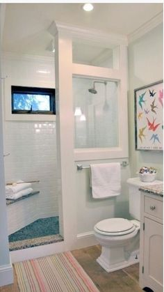Before and After Farmhouse Bathroom Remodel 2019 LOVE this idea! Doorless shower modern farmhouse cottage chic love this shower for a small bathroom The post Before and After Farmhouse Bathroom Remodel 2019 appeared first on Shower Diy. Bathroom Shower Design, Bathroom Renovation, Small Bathroom Remodel, Doorless Shower, House Bathroom, Home Remodeling, Bathrooms Remodel, Bathroom Makeover, Shower Design