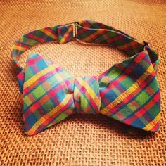 """The """"Jackson"""" bow tie.  www.sweetsouthernspud.com"""