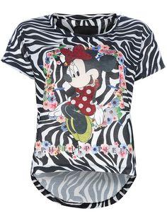 PHILIPP PLEIN   zebra print t-shirt