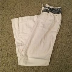 White comfy pants Worn once, in good condition, super comfy Rewash Pants
