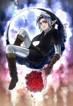 dark link moon by Sorairodori The Legend Of Zelda, Legend Of Zelda Characters, Legend Of Zelda Breath, Best Creepypasta, Creepypasta Characters, Ben Drowned, Jeff The Killer, Zelda Anime, Fanfiction