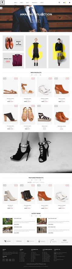 Elara is neat and clean black and white design responsive WordPress #theme for multipurpose #WooCommerce eCommerce #website. Download Now!