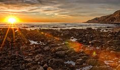 Sunset in Rancho Palos Verdes, Los Angeles County. Travel Around The World, Around The Worlds, Hermosa Beach, Tide Pools, California, Fishing Villages, Best Cities, Far Away, Deep Water