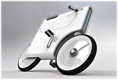 Electric Bike concept by Yuji Fujimara