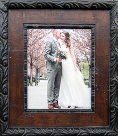 Custom framed weddin