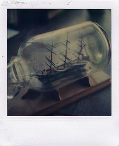 ship in a bottle // raymond molinar