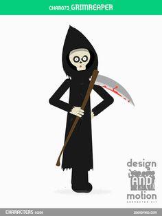 CHAR073_GrimReaper. Part of D&M Character Kit.