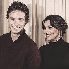 Eddie Redmayne & Samantha Barks