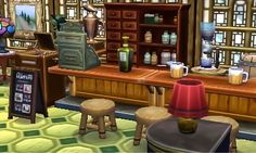 I made Marshal a Pub and Grill Restaurant instead of a Café ☺️ lol I thought the pub suits him more because of his smug personality. Plus Marshal is more hardcore than he looks Please Lmk what you...