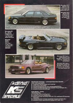 Tuners Part 1 : Koenig Specials - Mercedes-Benz Forum Mercedes S Class Amg, Mercedes Benz Forum, Mercedes Benz 500, National Car, Car In The World, Twin Turbo, Old Cars, Super Cars, Automobile