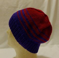 Berries Collide  Med/lg beanie with by PurlyShells808 on Etsy, $15.00