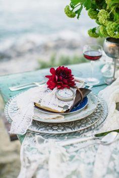 Style Me Pretty, Nautical Wedding, Shipwreck Photo Shoot, Vintage Inspired