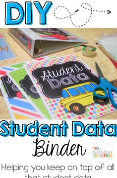 Keep track of all that student data in one binder. This post takes you step by step on how to make your own.