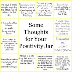 Diy Year Of Positivity Jar Positivity Challenge Encouragement Pick Me Up Jars Printable List. 365 Note Jar, Jar Of Notes, 365 Jar, Positive Thoughts, Positive Quotes, Thoughts For Kids, Spiritual Quotes, Quilt Pattern, Apple Watch Band
